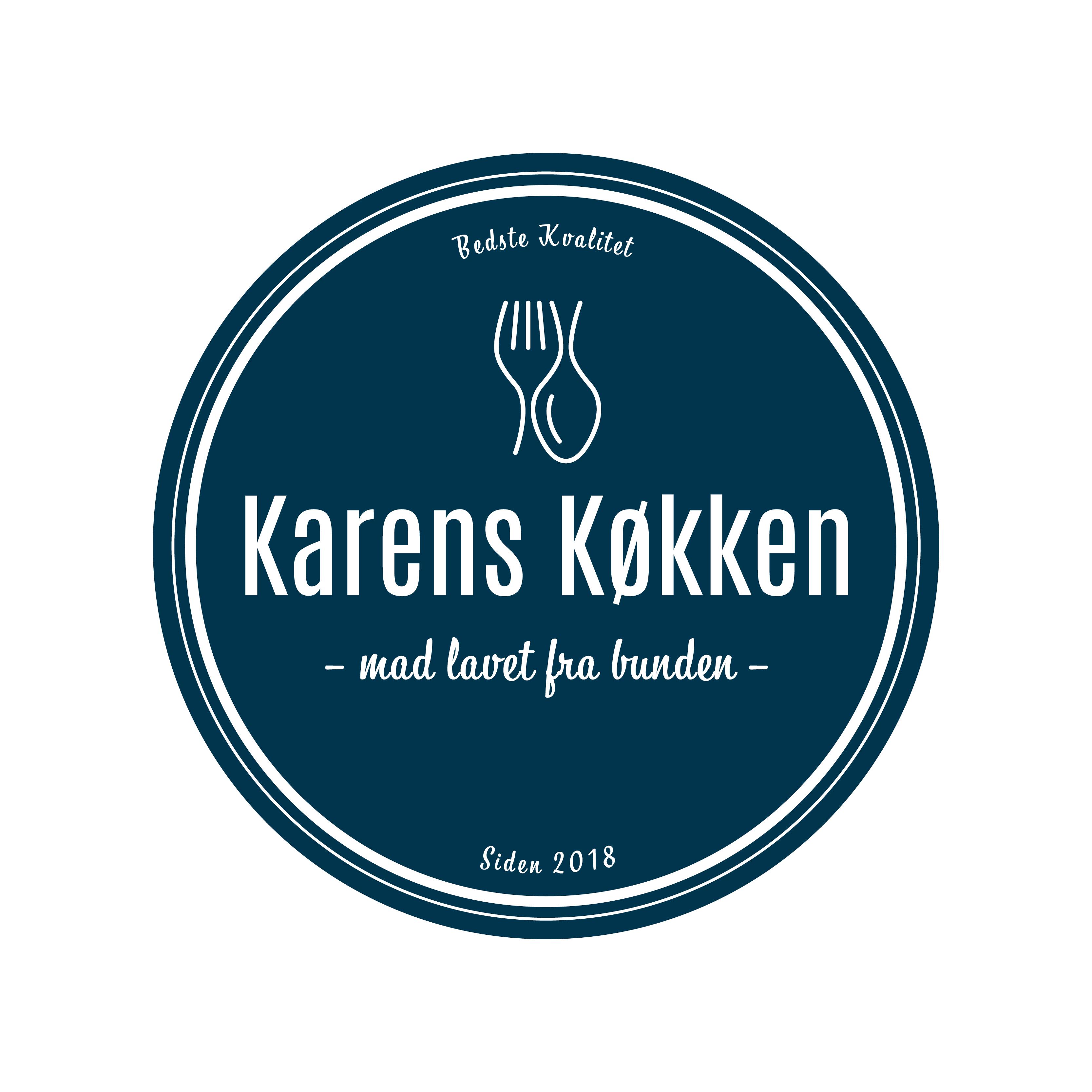 Unikt logo til din virksomhed - Lindstedt Graphic Design Studio - Karens Køkken